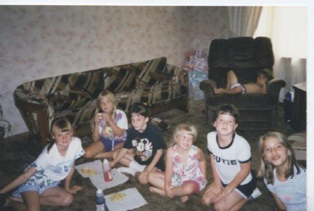 Piccole pesti che rovinano le foto di famiglia