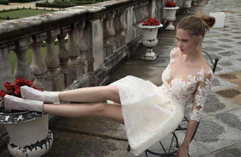 Abiti da sposa corti: i 10 modelli più belli