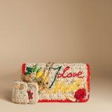 Dolce & Gabbana Borsa linea Rosa in rafia 2.750 euro