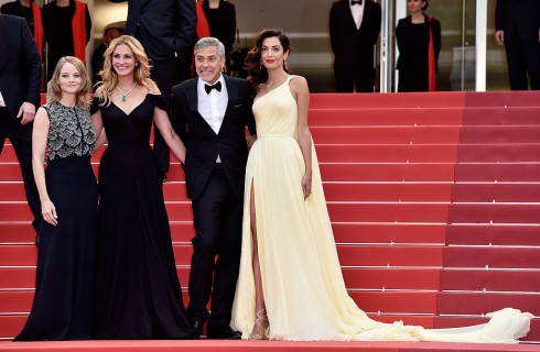 George Clooney e Amal: glamour e tenerezze sul red carpet di Cannes