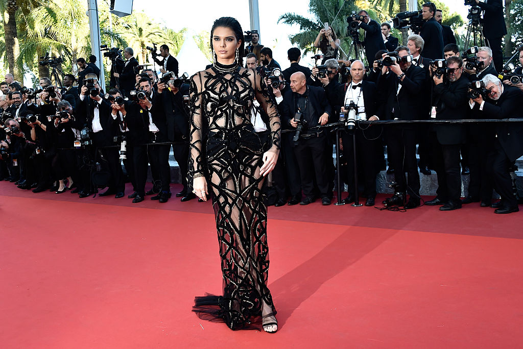 Kendall Jenner in Roberto Cavalli