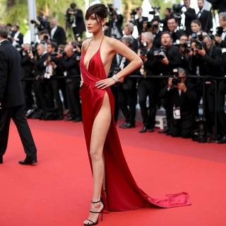 Cannes: red carpet hot per Bella Hadid