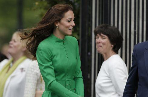 Kate Middleton in verde al Chelsea Flower Show