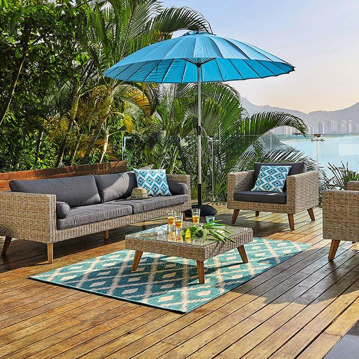 Arredamento outdoor, le proposte dell'estate
