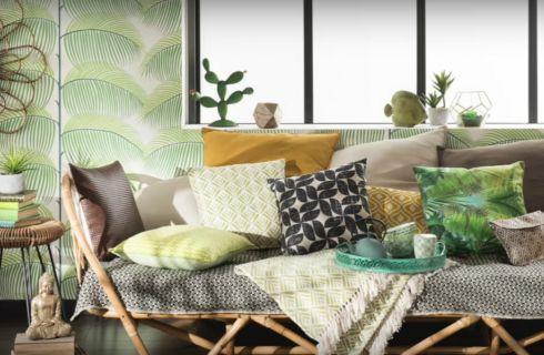 Idee per la casa: tendenza stampe tropicali