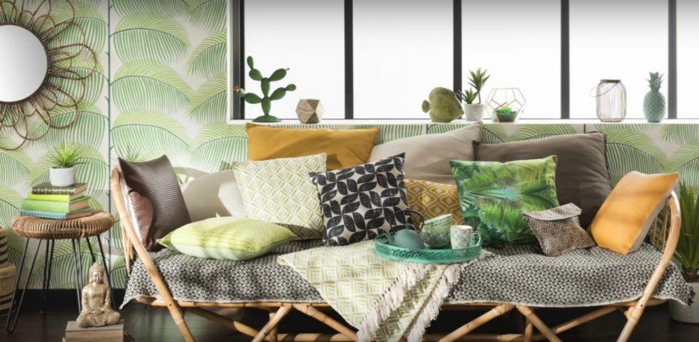 Idee per la casa tendenza stampe tropicali diredonna for Idee x arredare la casa