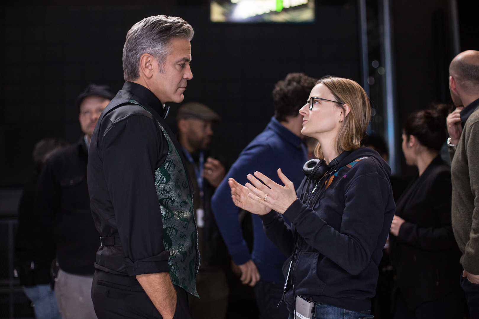 Money Monster: le foto con George Clooney e Julia Roberts