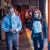 "George Clooney e Jodie Foster sul set di ""Money Monster"""