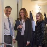 "George Clooney, Julia Roberts e Jodie Foster sul set di ""Money Monster"""