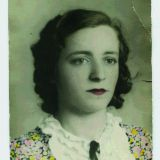 Annita De Giacomi negli anni 40