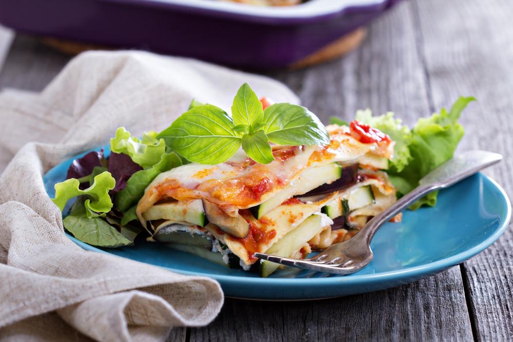 ricette estive facili e veloci: lasagna con verdure