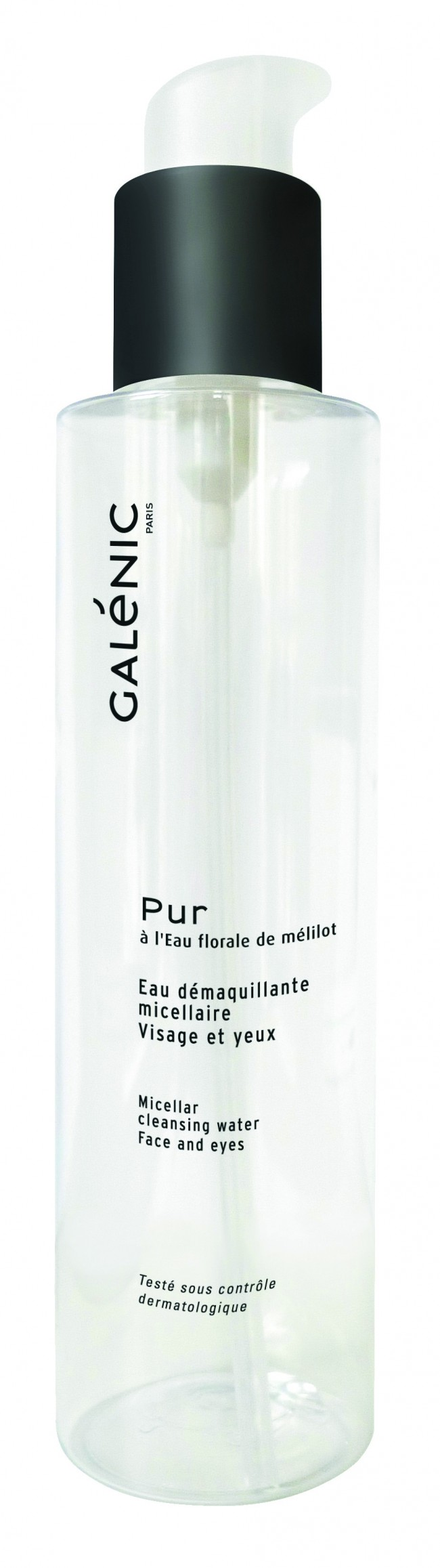 Galénic, Acqua micellare struccante viso e occhi (17.80 euro)
