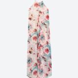 Zara, abito stampato maxi (59,95 euro)