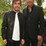 Fernando Alonso e Ron Dennis