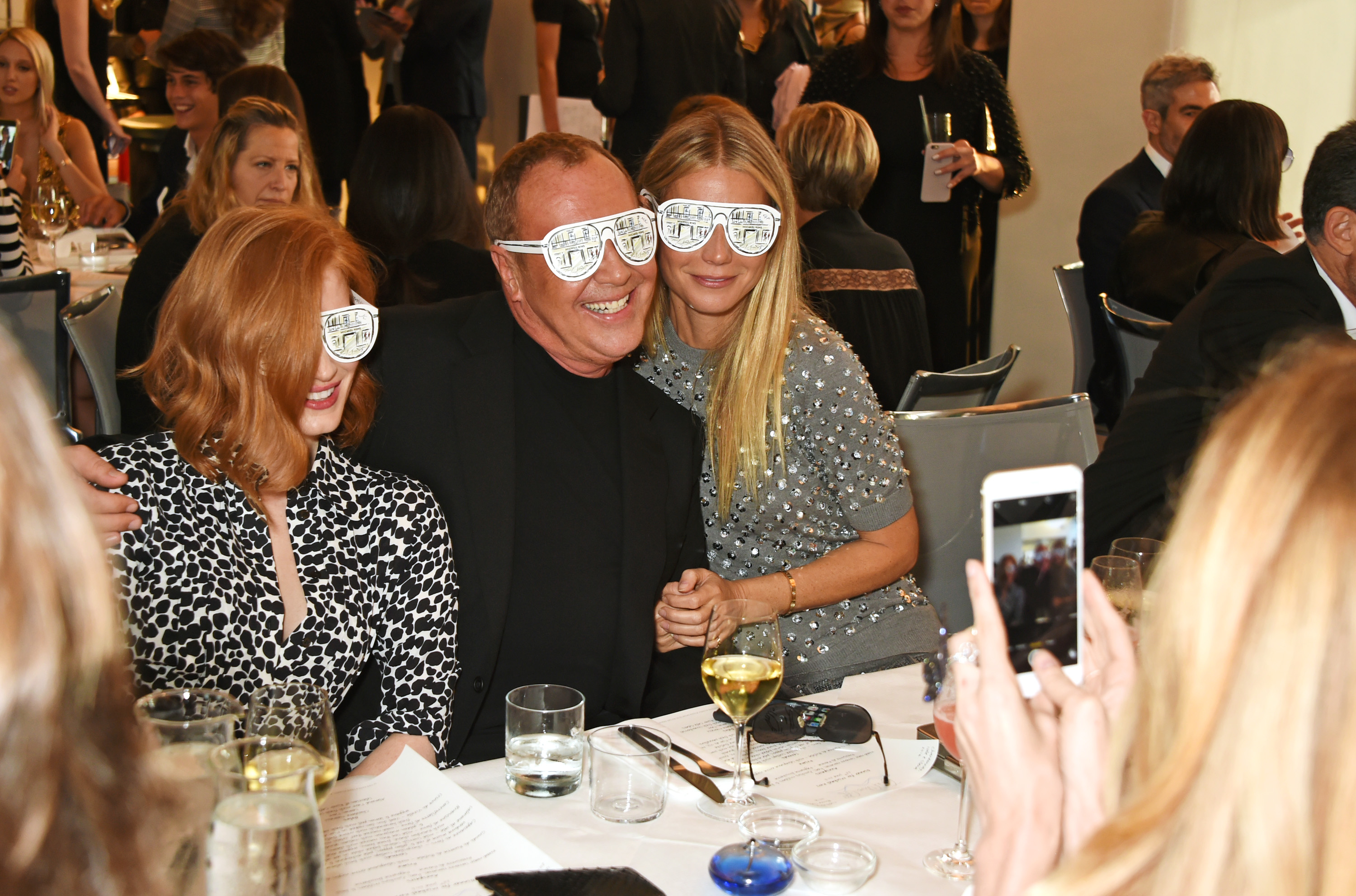 Michael Kors Londra, le foto del party con Gwyneth Paltrow