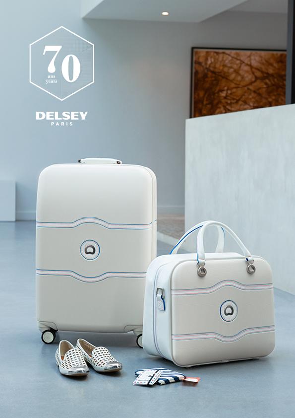 Delsey, la capsule collection per i 70 anni