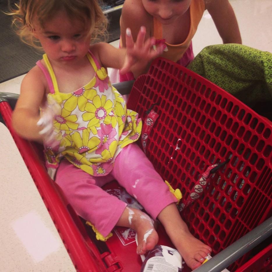 Quando fare spesa con i bimbi diventa un incubo