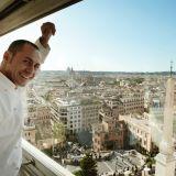 Francesco Apreda, chef di Imàgo, presso l'Hotel Hassler