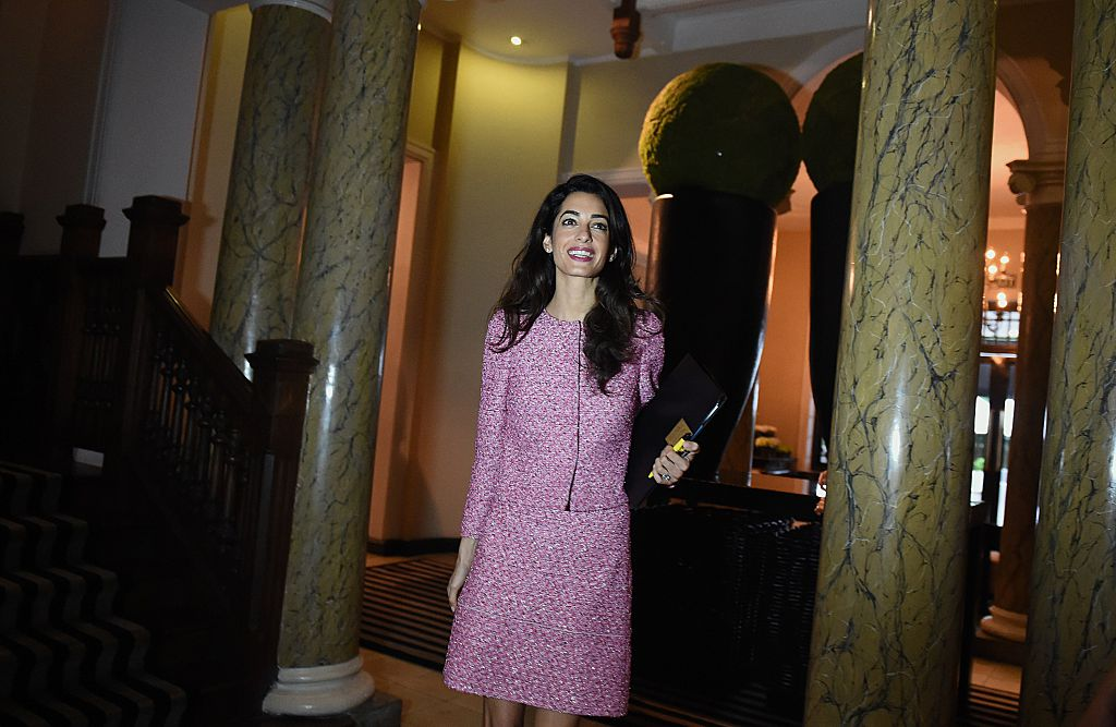 Amal Clooney, i look ispirati a Jackie Kennedy: le foto