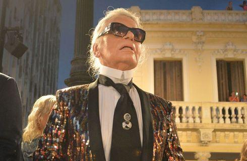 Karl Lagerfeld disegna i costumi per il balletto all'Opera di Parigi