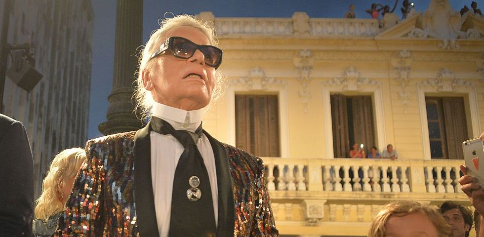 Karl Lagerfeld disegna i costumi per il balletto all'Opera di Parigi