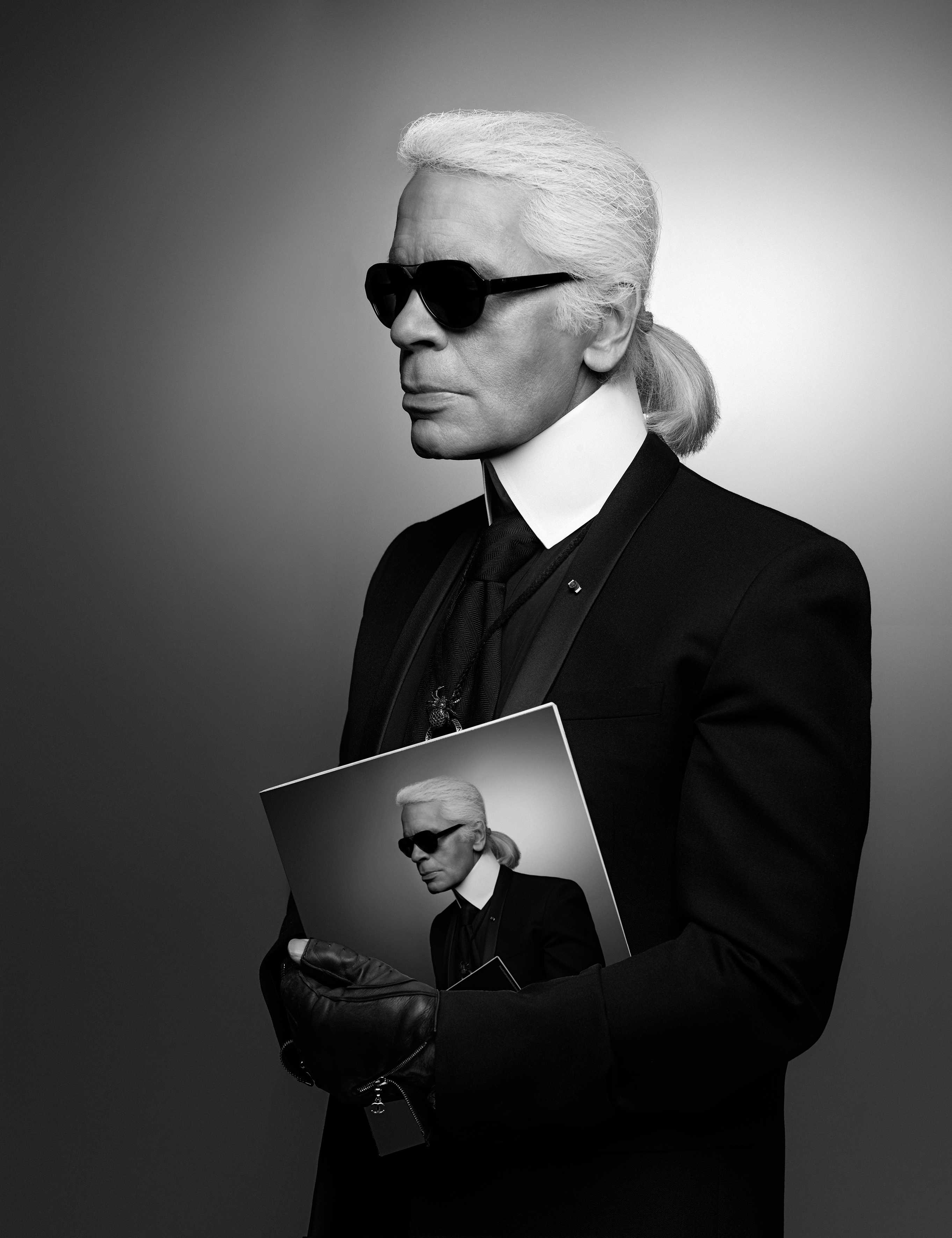 Karl Lagerfeld in mostra a Palazzo Pitti: le foto