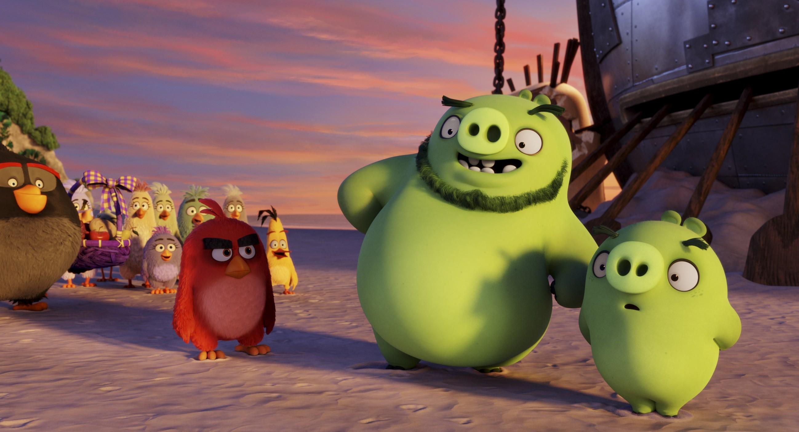 Angry Birds, le foto del film