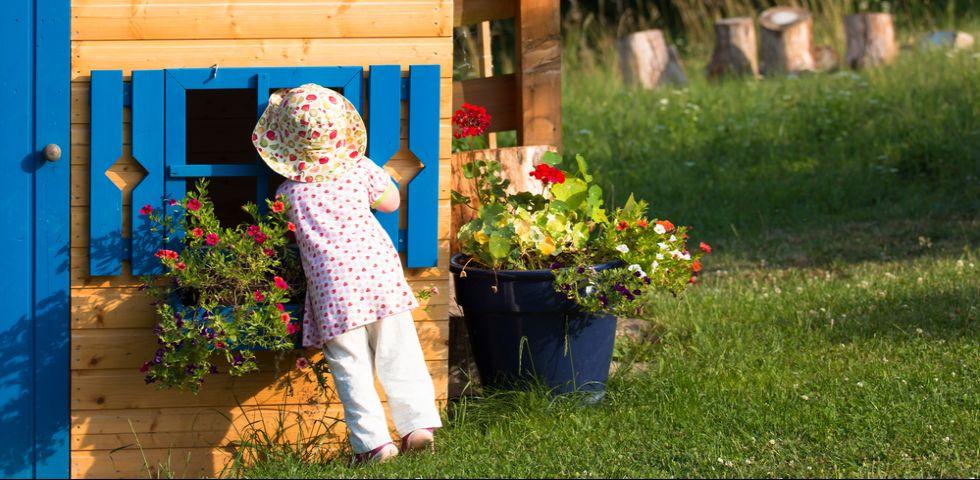 Casette da giardino per bambini le pi belle diredonna - Casette per bambini da giardino ...
