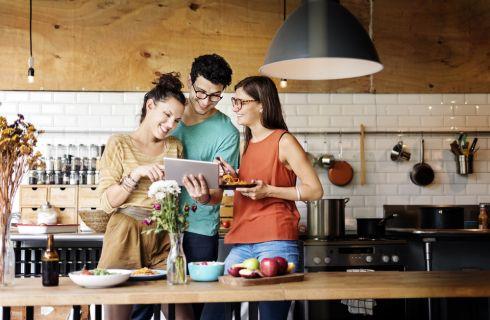 Arredare cucina piccola: le soluzioni salvaspazio