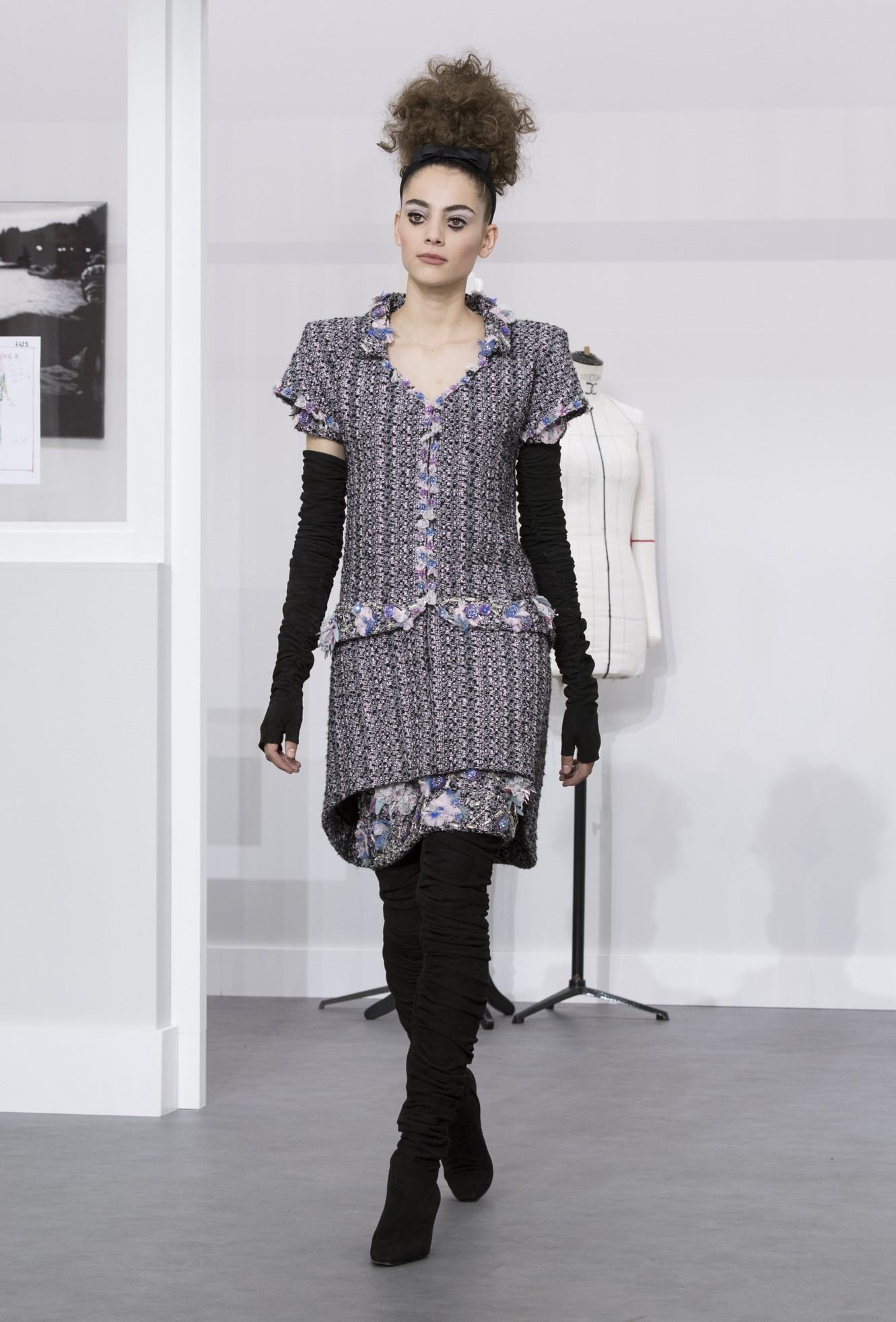 Chanel Haute Couture autunno inverno 2017, foto