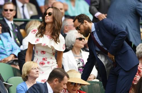 Pippa Middleton e James Matthews: prima uscita pubblica a Wimbledon