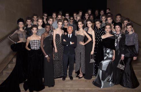 Giorgio Armani Privé Haute Couture Autunno Inverno 2016/17: eleganza in bianco e nero