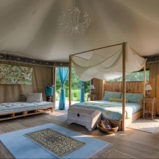 Glamping: i 5 campeggi glamour più belli in Italia