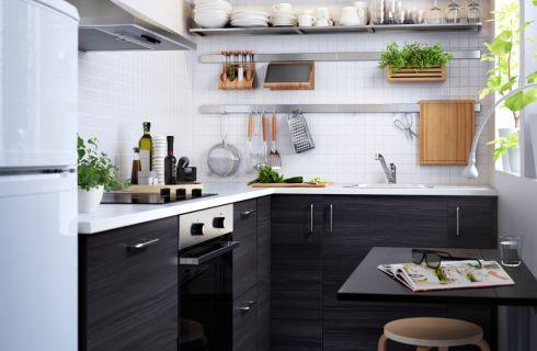 5 motivi per scegliere la cucina nera