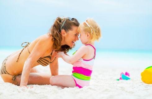 I giochi più belli da fare al mare con i bambini