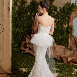 Gli abiti da sposa a sirena più belli del 2017