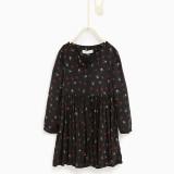 Zara Bambina, abito con stelle (25,95 euro)