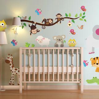 Adesivi murali per decorare la camera dei bambini