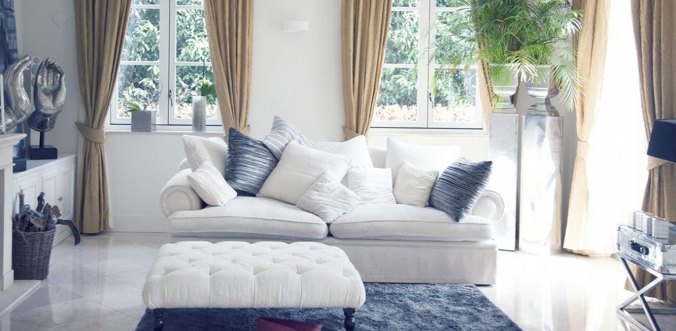 Come arredare un soggiorno quadrato | DireDonna
