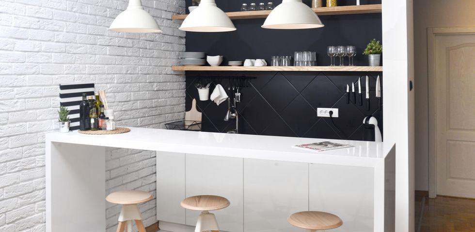 Cucina a vista idee per arredare diredonna for Idee per arredare la cucina