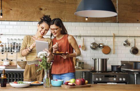 Come organizzare la cucina per un'alimentazione sana