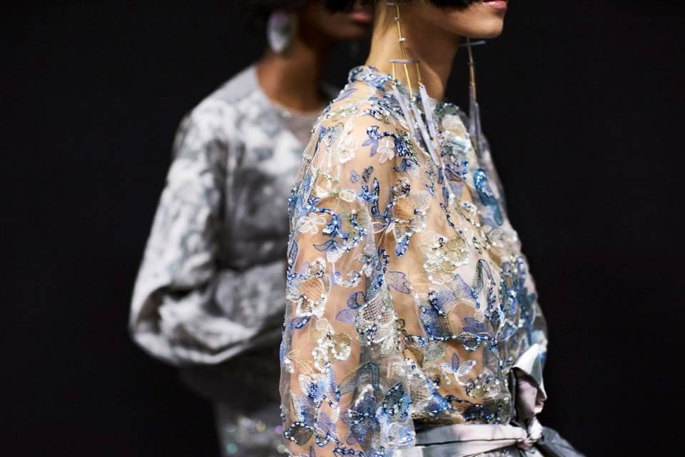 Giorgio Armani, le foto della collezione Primavera Estate 2017