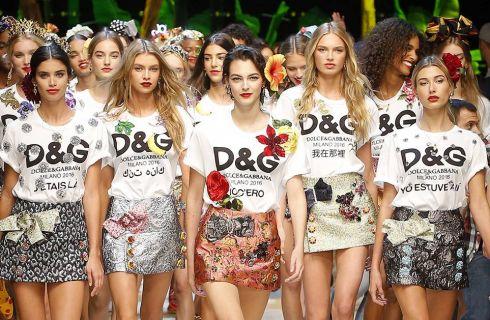 Dolce & Gabbana Primavera Estate 2017: la sfilata a Milano