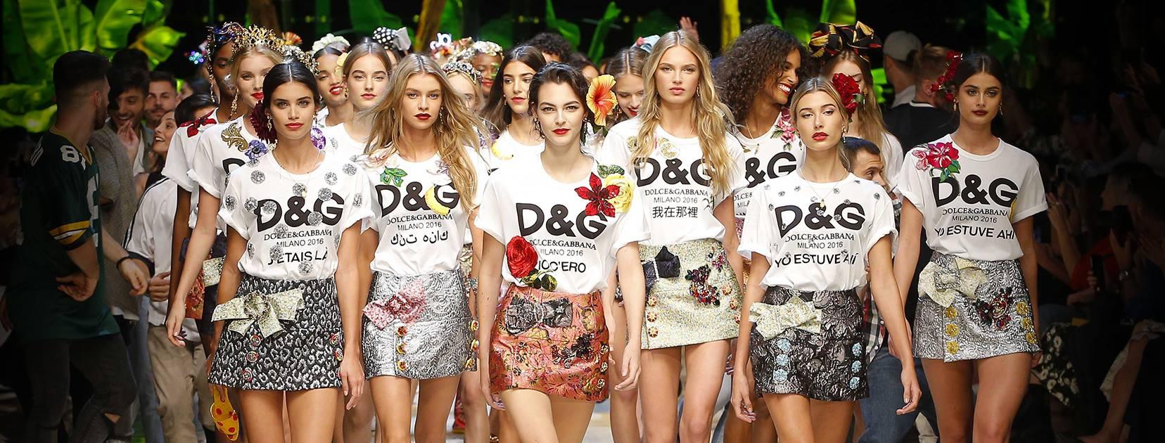 Dolce & Gabbana Primavera Estate 2017: le foto della sfilata a Milano