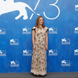Natalie Portman incinta a Venezia per presentare Jakie