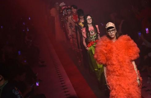Gucci apre Milano Moda Donna con la collezione Primavera Estate 2017