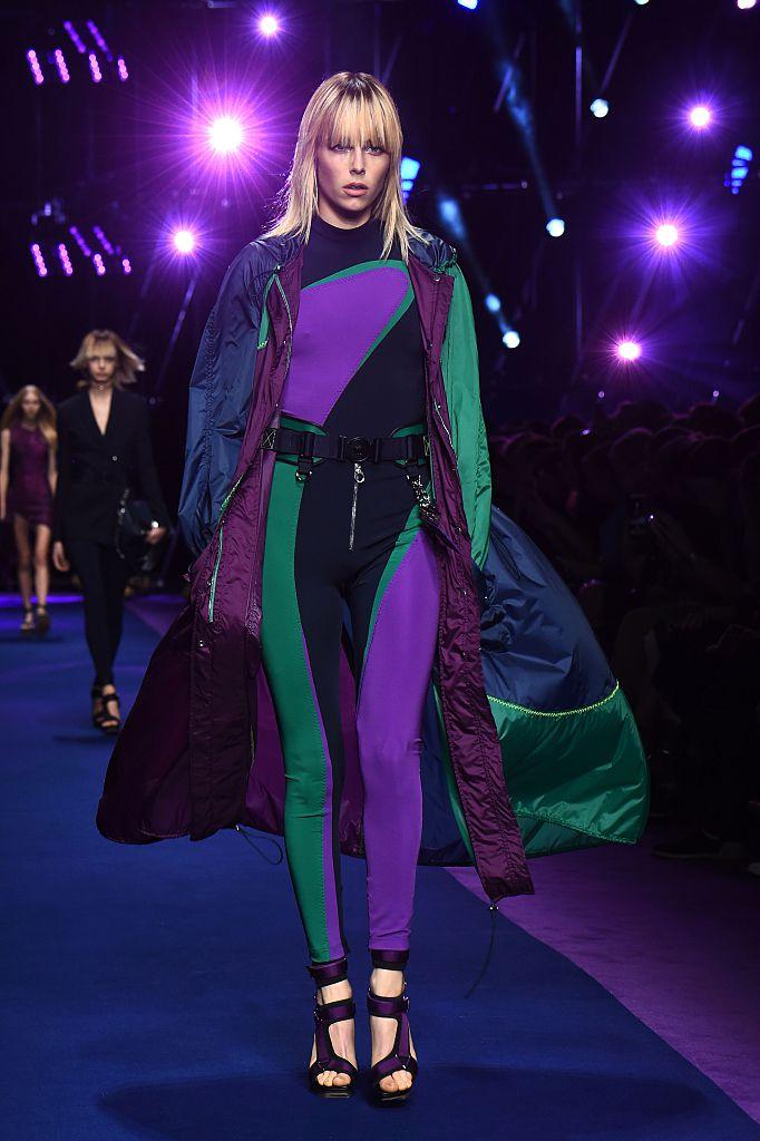 Versace, le foto della collezione Primavera Estate 2017