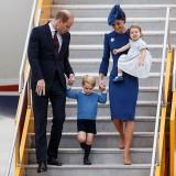 La famiglia reale inglese in viaggio ufficiale in Canada