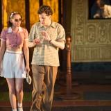 Kristen Stewart e Jesse Eisenberg in Café Society di Woody Allen