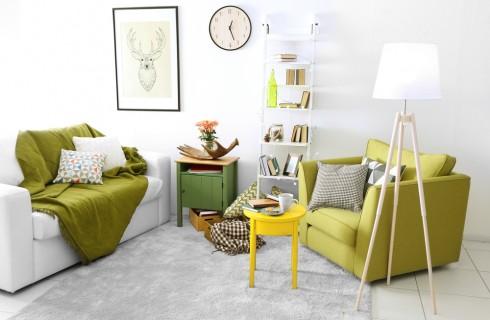 Come abbinare i colori in soggiorno
